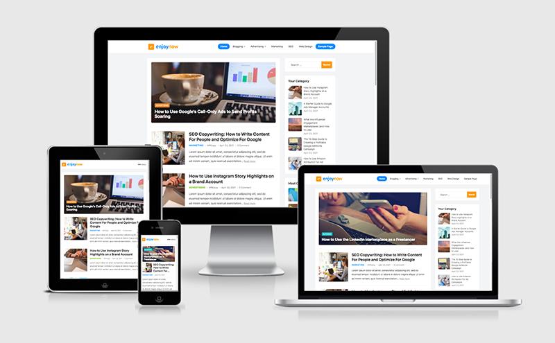 EnjoyNow WordPress Theme